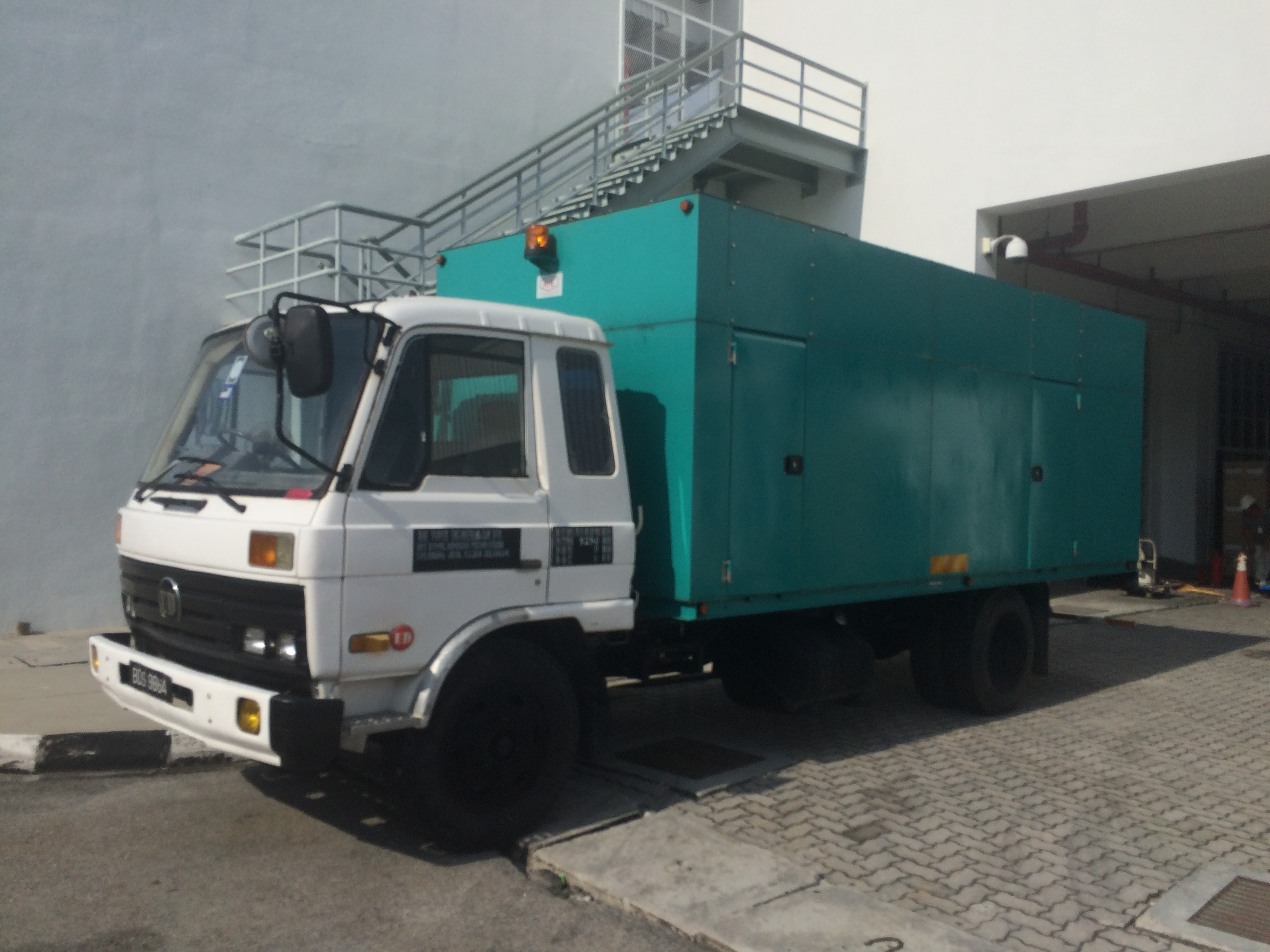 Mobile Generator Rental Malaysia Events Construction Site