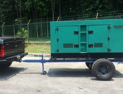Generator With Trailer